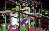 3D Model of New Plant Process