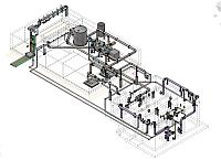 3D Model of Process Water System for creation of Fabrication & Construction Drawings